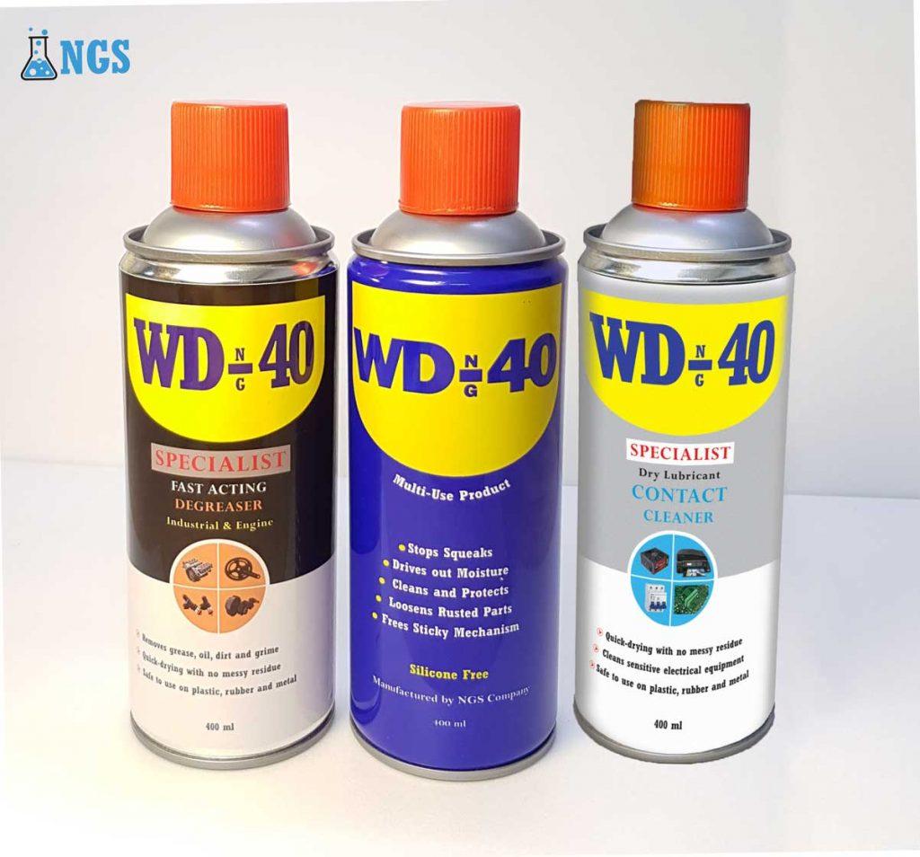 Industrial Sprays, WD-40, اسپری صنعتی